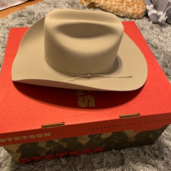 f3d406a721ee0f Stetson Accessories | D4 Ranch 5x Tan Cowboy Hat | Poshmark